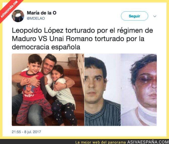 71308 - Tortura en Venezuela vs Tortura en España