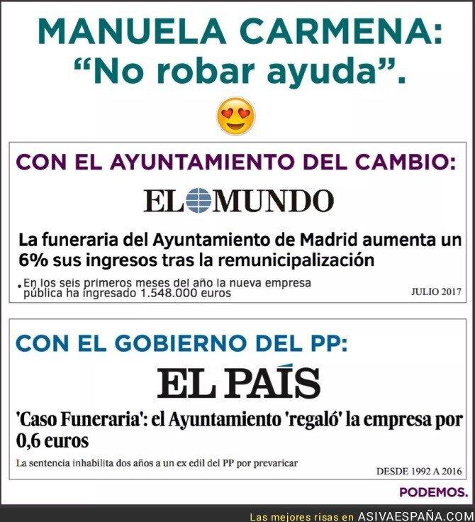 71544 - La diferencia en el cementerio de Madrid cuando gobierna el PP o Podemos