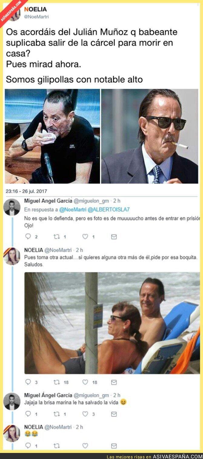 72302 - El gran cambio de Julián Muñoz tras librarse de la cárcel que está indignando a todo el mundo