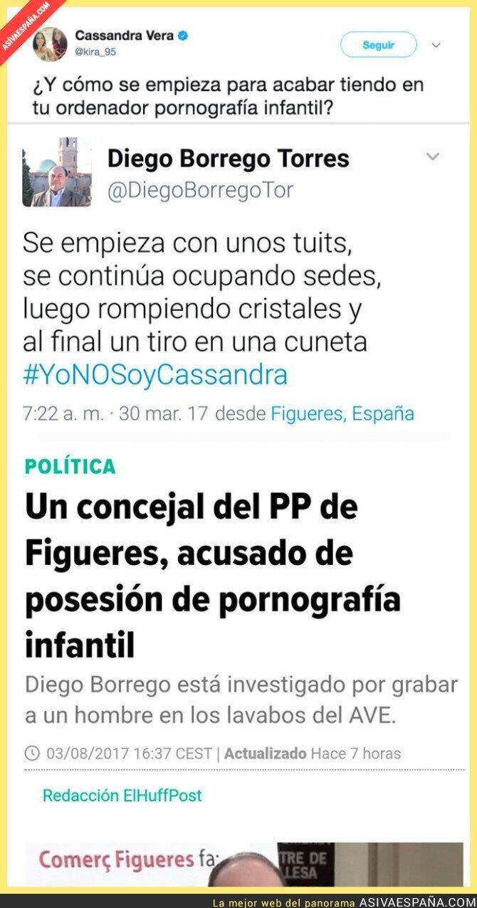72740 - El ZASCA brutal de Cassandra Vera a un concejal del PP en Figueras