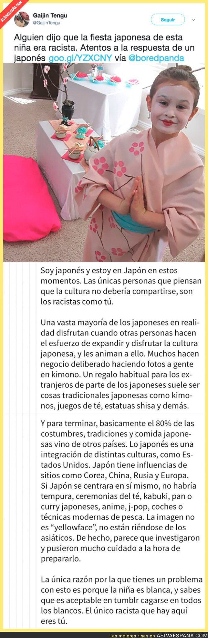 72766 - La lección de un japonés sobre racismo