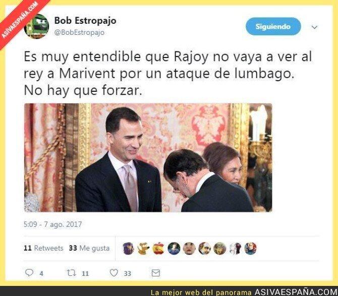 72846 - La razon por la que Rajoy retrasa su reunión con el rey