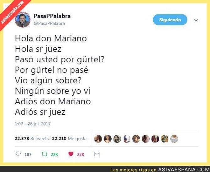 72852 - Como fue el testimonio de Rajoy en el caso Gürtel