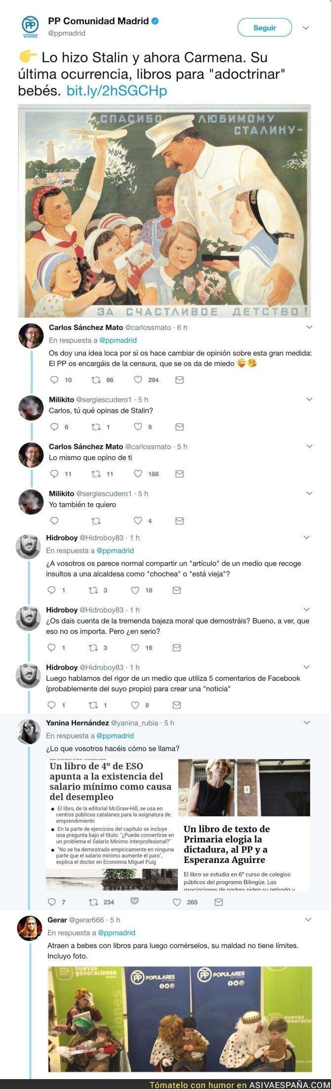 73043 - El PP de Madrid compara a Manuela Carmena con Stalin
