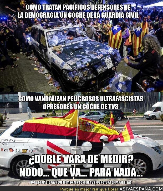 75526 - Doble vara de medir de los medios, nacionales y catalanes