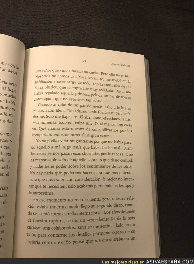 75710 - ¡Chenoa desvela en su libro el motivo por el que terminó su relación con David Bisbal!