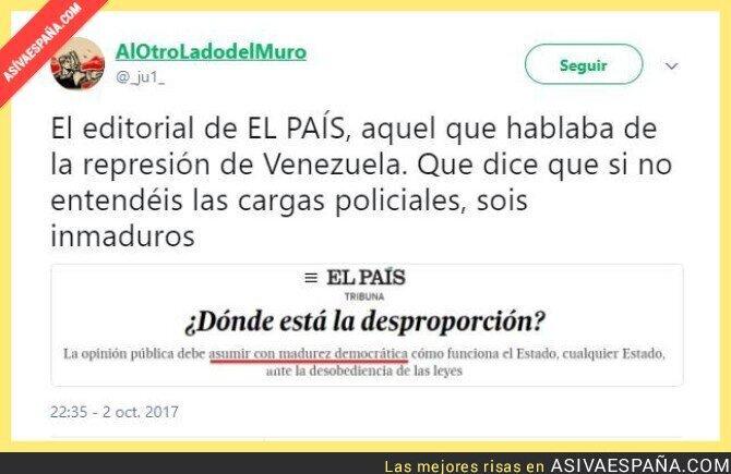 76170 - Venezuela: Represión. España: Madurez democrática
