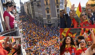 76681 - Lo que ocurrió en la manifestación españolista de Barcelona y que los medios españoles no cuentan