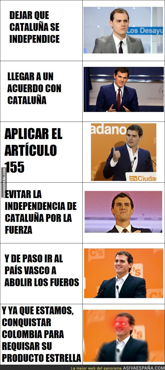 76817 - Las preferencias de Albert Rivera