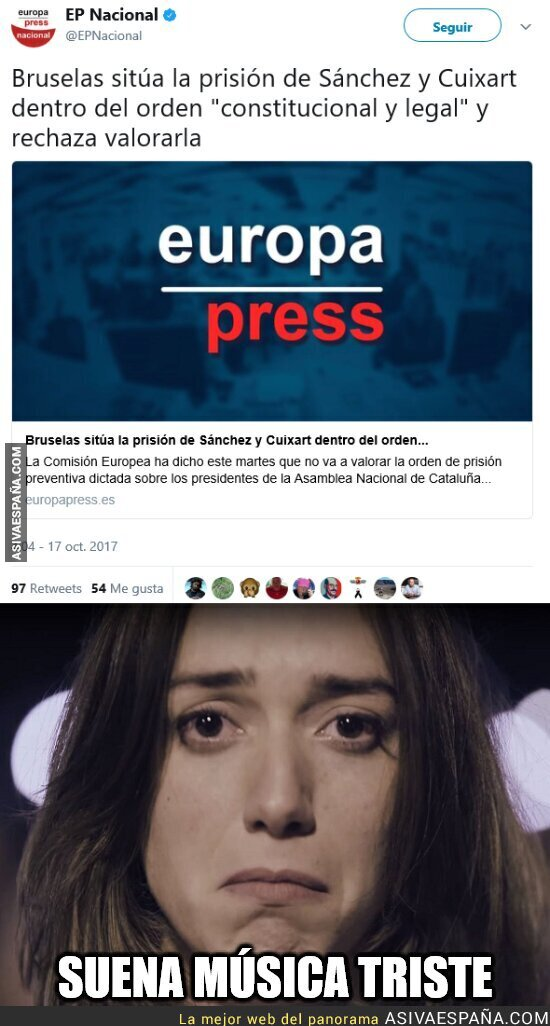 77253 - Europa no se ha emocionado con el video de Ómnium