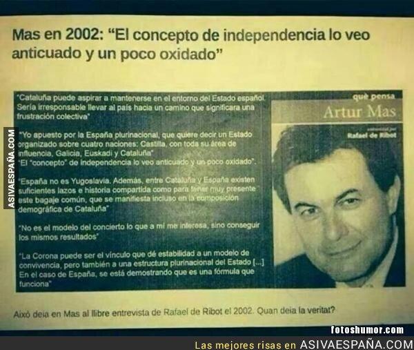77312 - Lo que opinaba Artur Mas en 2002