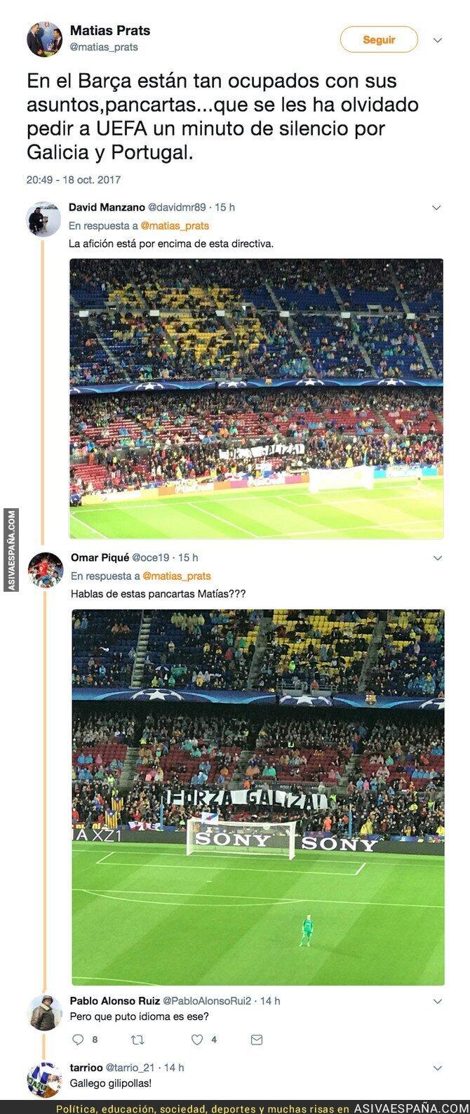 77377 - Matías Prats (Hijo) resbala en Twitter criticando a todo el Barça y le dejan mal