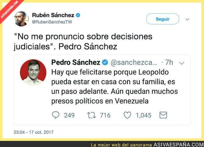 77382 - Pedro Sánchez traiciona de nuevo a la izquierda española