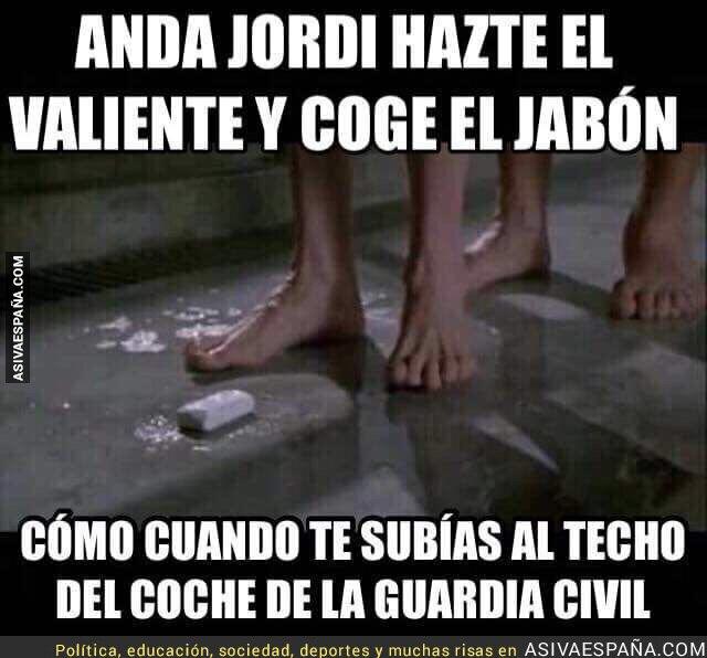 77615 - Los duros momentos que pasa Jordi Sánchez por parte de los demás presos