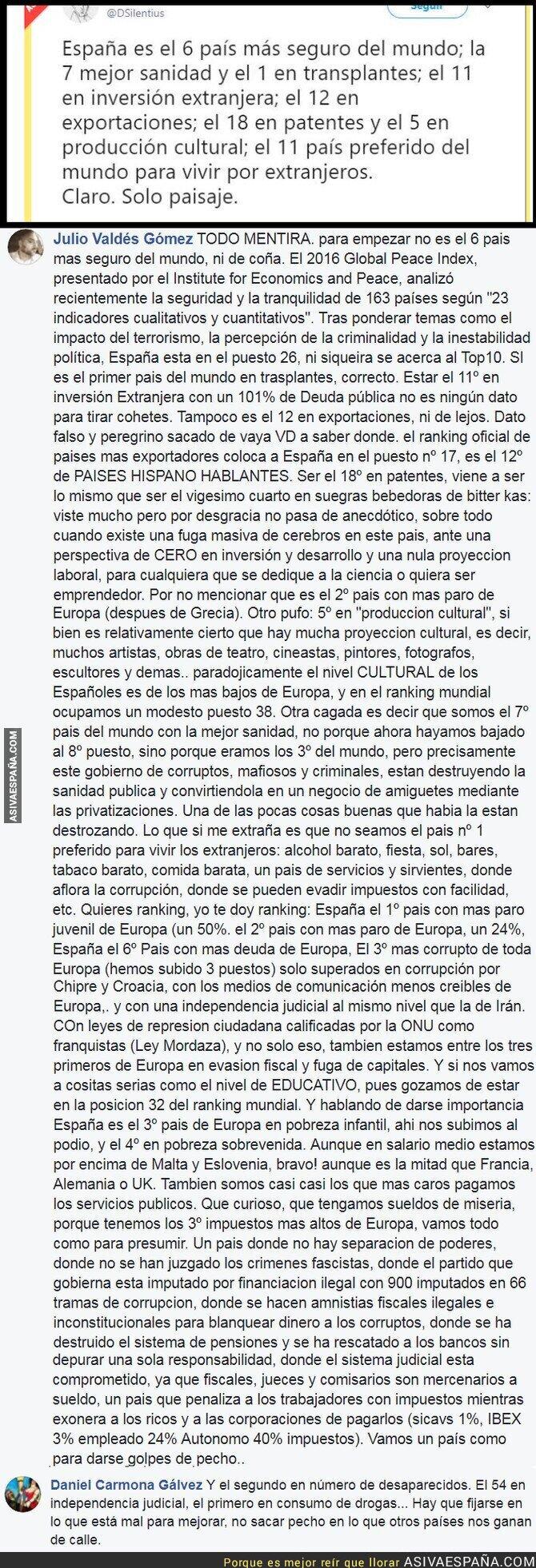 77623 - España es la mejor del mundo mundial, nos envidian... o no tanto.