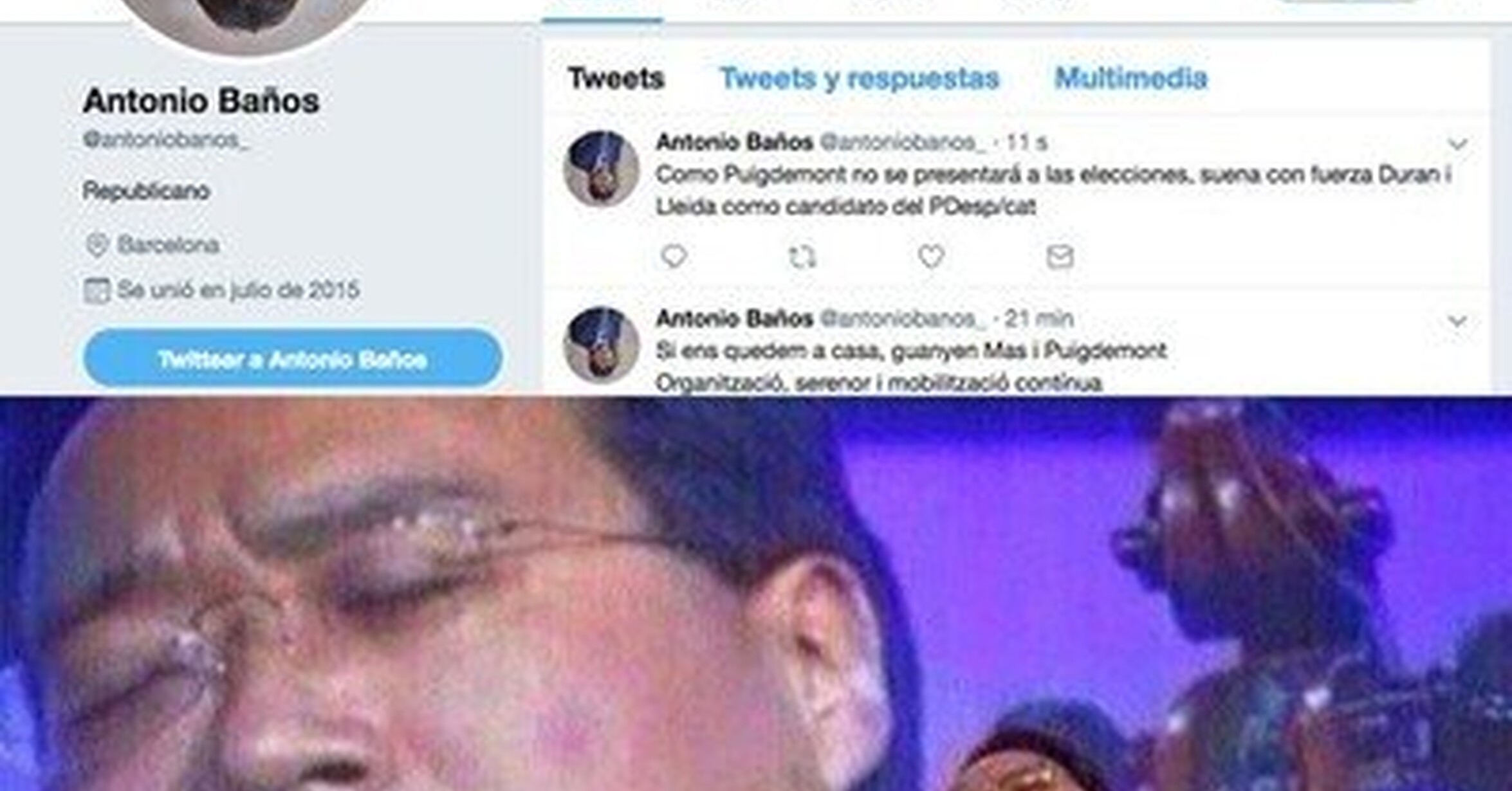 El nuevo avatar de Antonio Baños