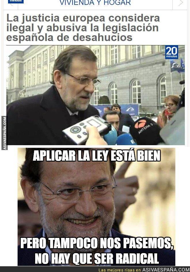 77976 - Rajoy y su obsesión por la ley.