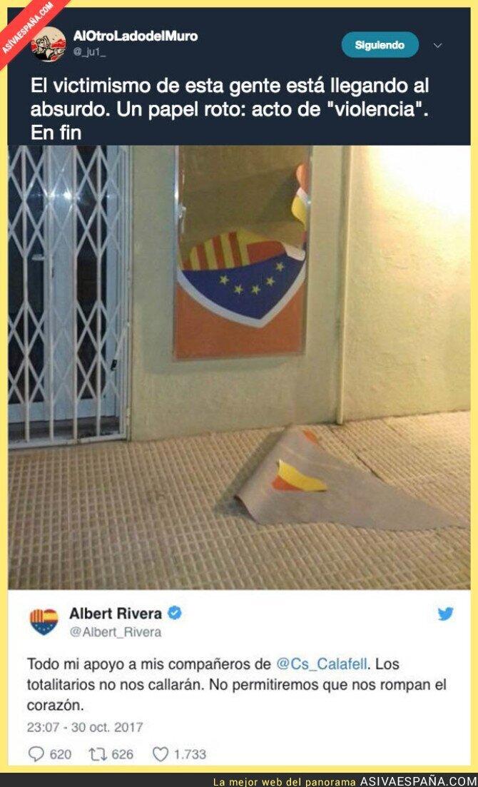 78091 - Lo de Albert Rivera roza lo ridículo