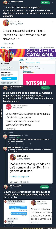 78118 - Pillan a 'Societat Civil Catalana' organizando una quedada junto a nazis