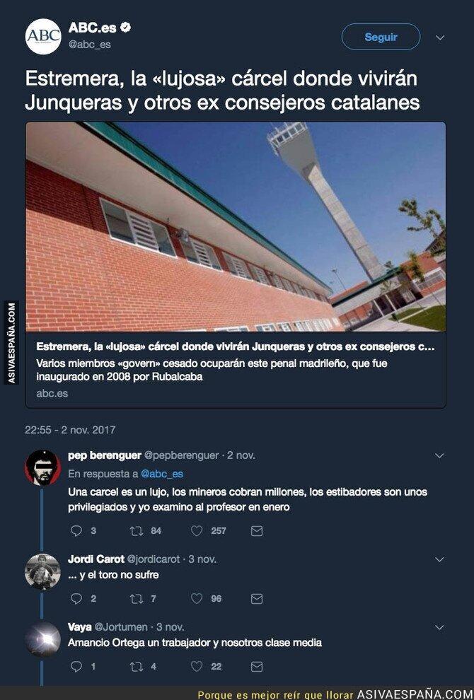78240 - El polémico titular de ABC hablando sobre la cárcel en la que están los políticos catalanes