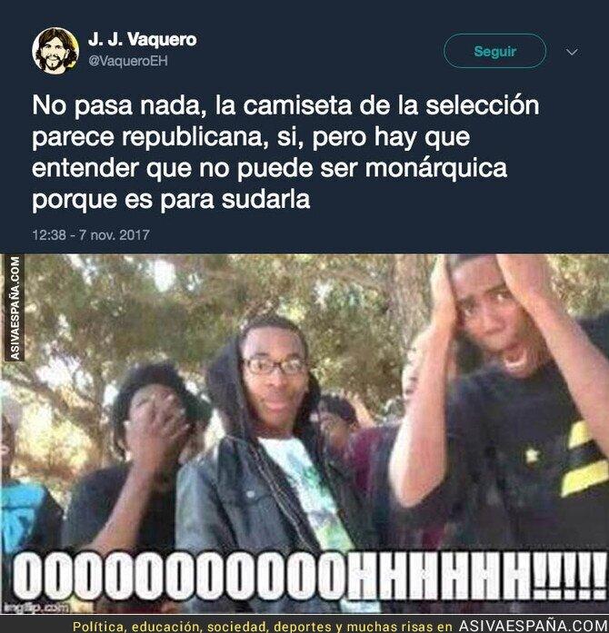 78410 - La explicación de la camiseta de España republicana