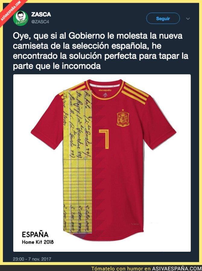 78494 - El mejor diseño para la camiseta de España