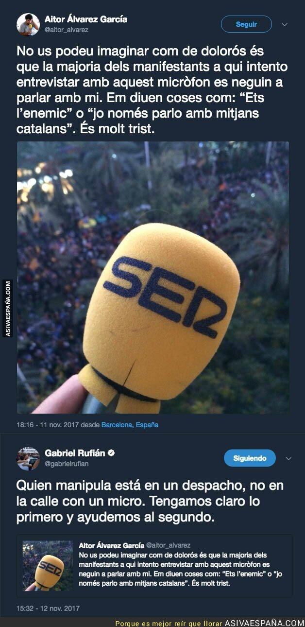 78783 - El problema de ser reportero en la calle con según que medios