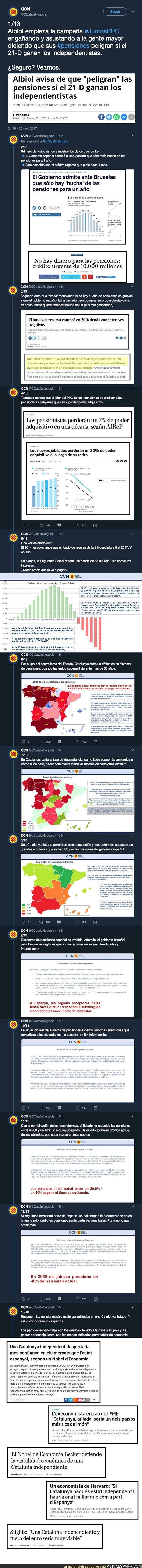 79085 - El PP de Catalunya empieza con la campaña del miedo con la gente mayor y le responden de forma BRUTAL