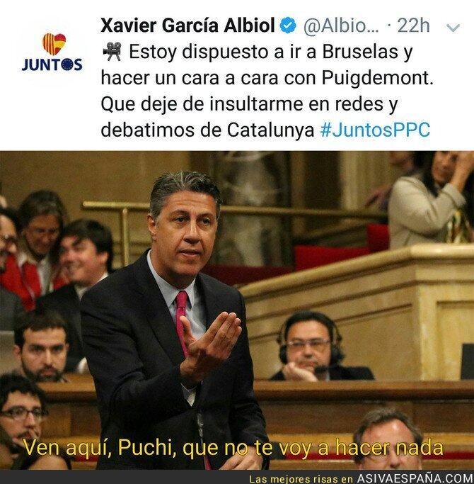 79171 - Xavier Garcia Albiol se pone gallito