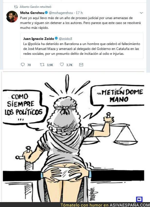 79235 - La Justicia es rápida en Españistám... según quien!