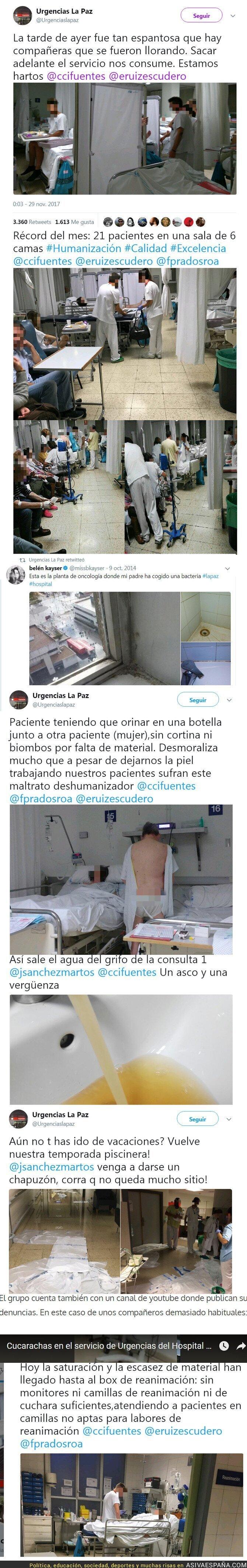 79456 - El lamentable estado de Urgencias La Paz