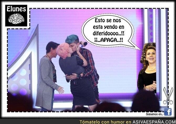79462 - Al PP no le gusta nada lo que pasó en TVE con ese beso...
