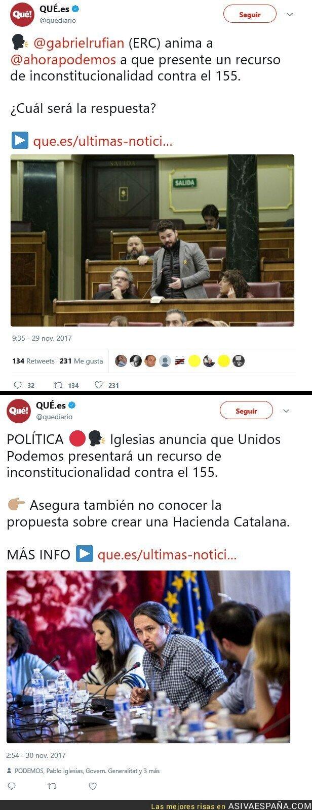 79470 - Unidos Podemos le sigue el juego a ERC.