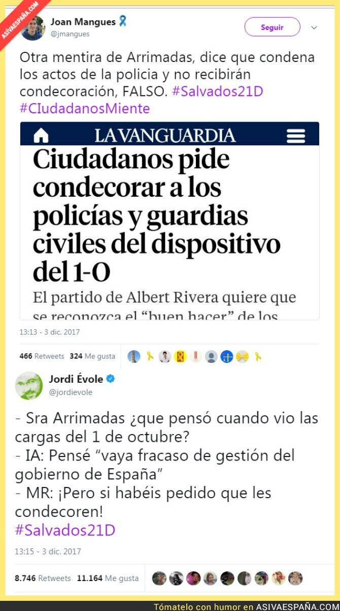 79623 - Inés Arrimadas se lleva un zascazo monumental en Salvados