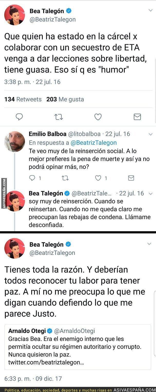 79885 - Bea Talegón: Cuando cobra de OkDiario vs cuando cobra del diari Ara