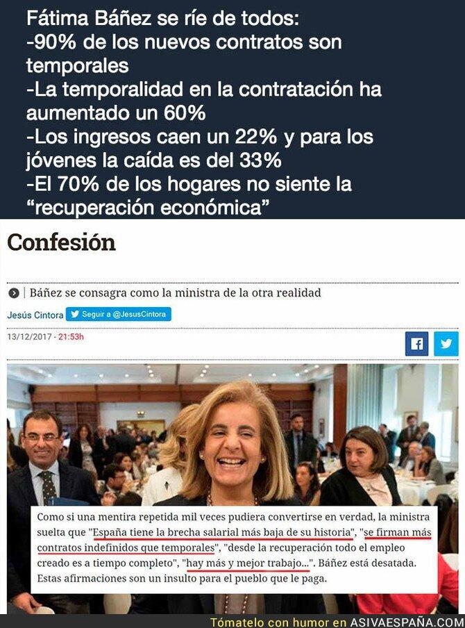 80099 - Fátima Bañez y el empleo