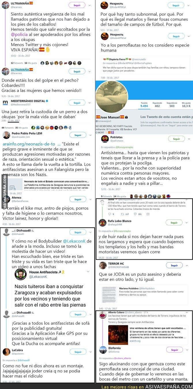 80238 - Reacciones de los pacíficos españoles de bien tras el fracaso del asalto al centro okupa
