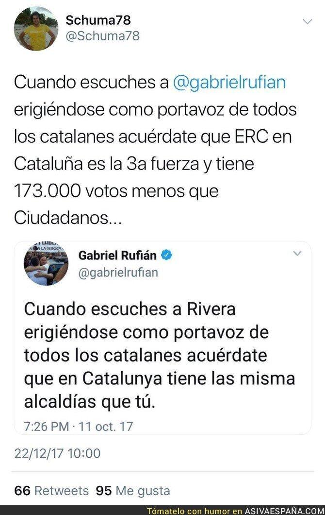80486 - Gabriel Rufián debería estar callado una buena temporada