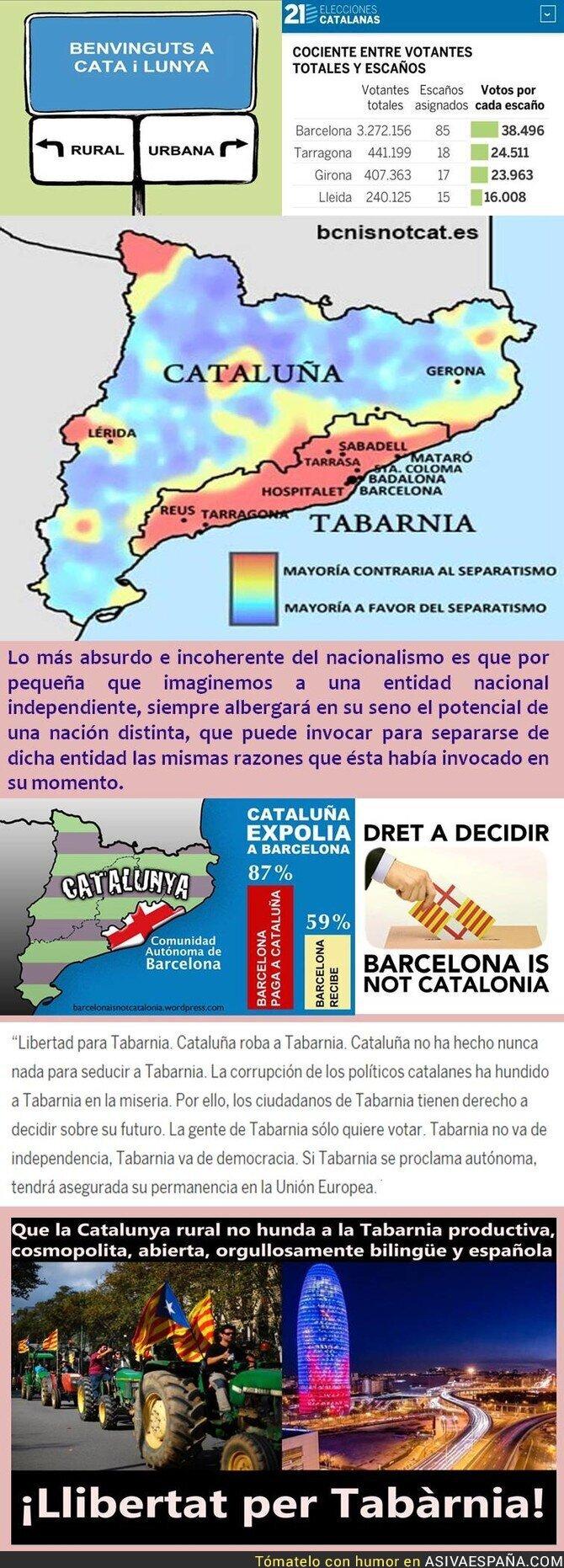 80653 - Los independentistas catalanes frente al espejo