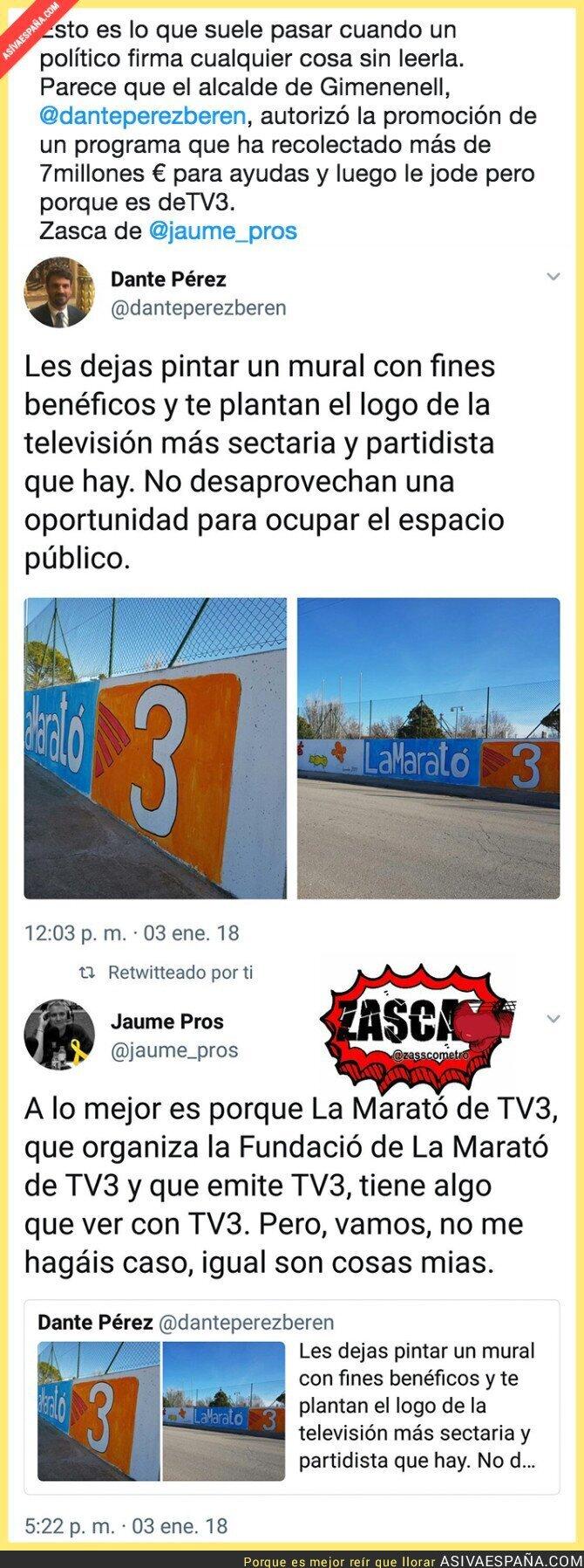 81004 - La Marató de TV3 no se toca o saldrás caliente