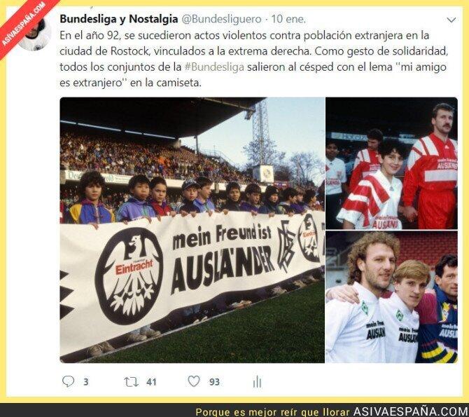 81440 - Mientras en España se suceden insultos racistas en el campo, Alemania nos llevaba años de ventaja ya hace 26 años.