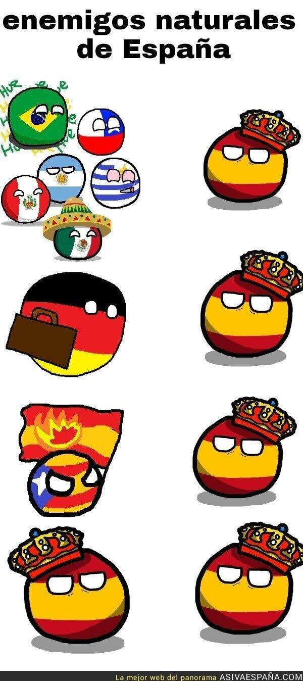 Enemigos De España