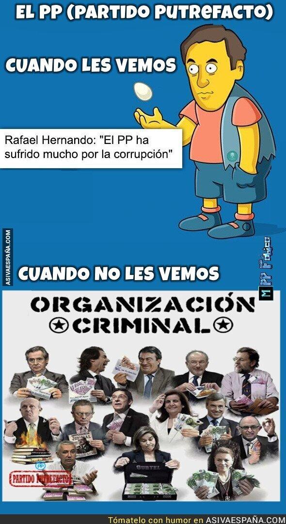 81691 - El PP sufre por la corrupción, (porque les pillan)