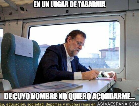 81870 - Rajoy el escritor