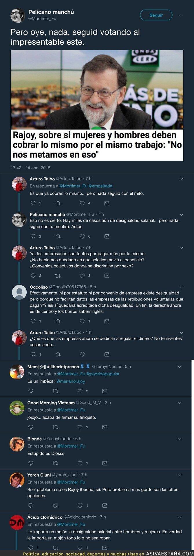 81881 - La polémica frase de Rajoy sobre el salario de las mujeres que está haciendo arder internet