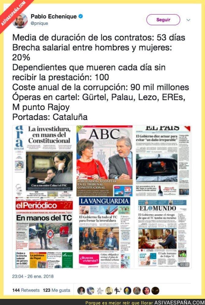 82011 - Catalunya enmascara todo lo que está pasando en España