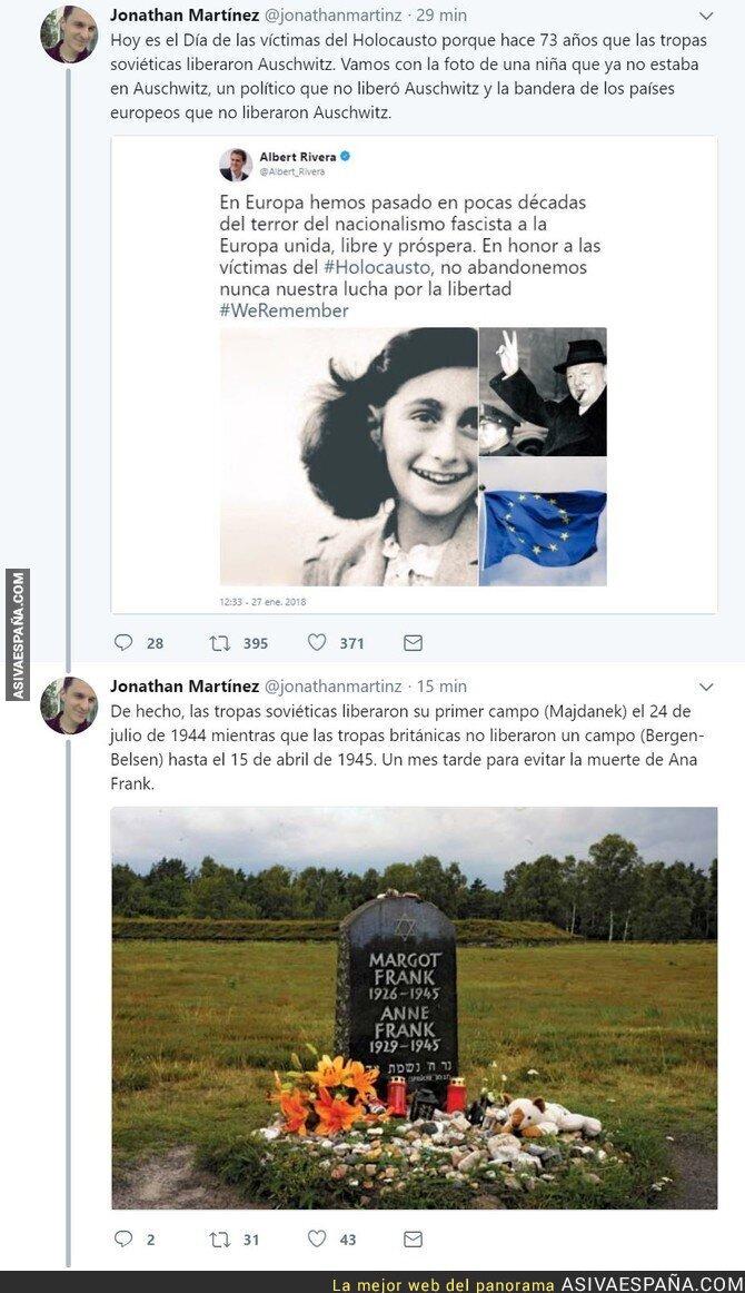 82045 - Liberales como Albert Rivera tergiversando la Historia. Otra vez.