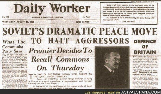 82174 - Mitos de la Segunda Guerra Mundial. La URSS NO invadió Polonia