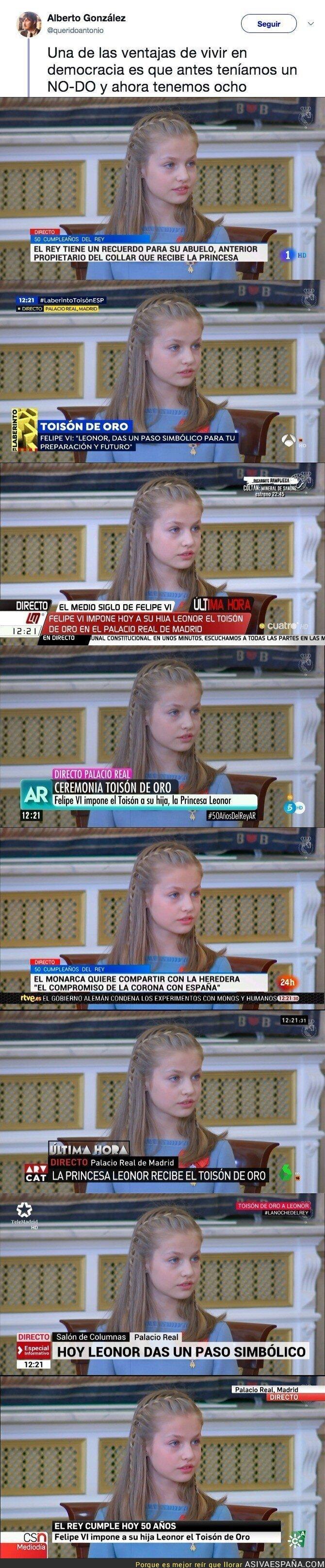 82214 - La evolución de España: de 1 NO-DO a 8