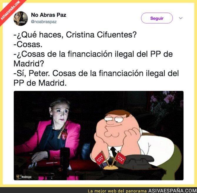 82755 - Mientras tanto, Cristina Cifuentes...